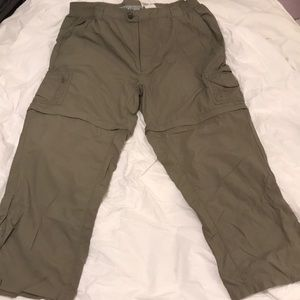 Columbia Women's Convertible Hiking Pants XL